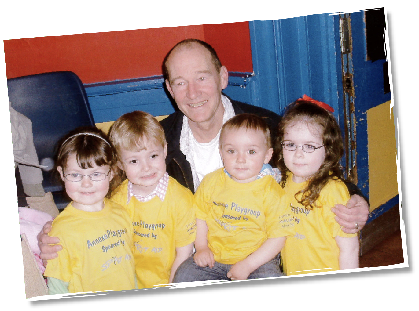 David Hayman founder of Spirit Aid